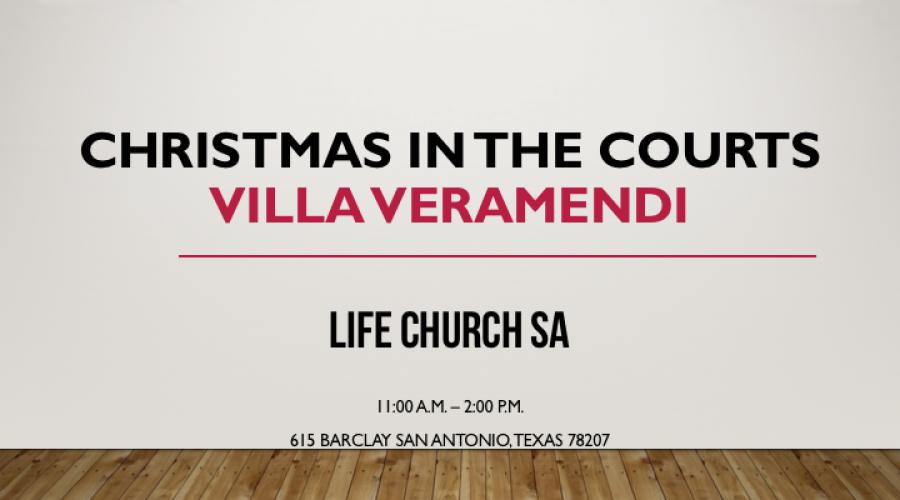 Christmas in the Courts Villa Veramendi 2016